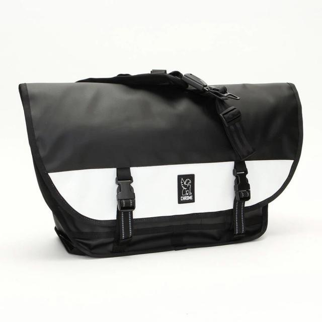 クローム シチズン メッセンジャーバッグ CHROME CITIZEN MESSENGER BAG TARP BLACK/WHITE BG292BKWT