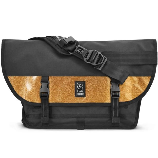 クローム シチズン メッセンジャーバッグ CHROME CITIZEN MESSENGER BAG MEDAL BLACK/GOLD BG294BKGD