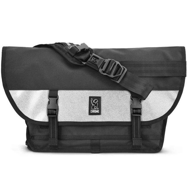 クローム シチズン メッセンジャーバッグ CHROME CITIZEN MESSENGER BAG MEDAL BLACK/SILVER BG294BKSL