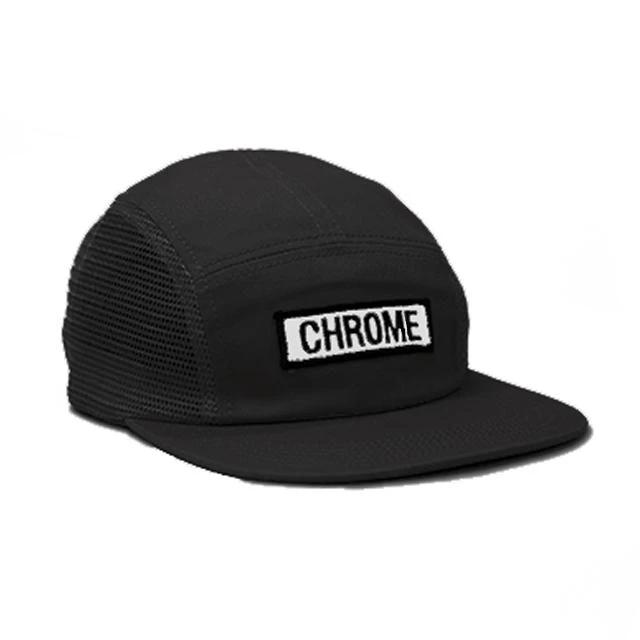 【SALE】クローム サイドメッシュパッチキャップ CHROME SIDE MESH PATCH CAP BLACK メンズ 帽子 自転車 ピスト メッセンジャー JP140BK