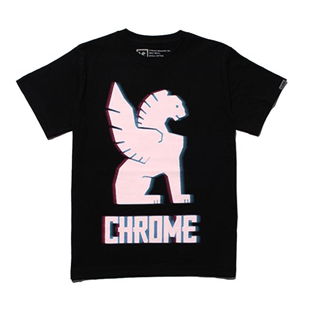 【SALE】 クローム CMKシンボルティー CHROME CMK SYMBOL TEE BLACK メンズ JP145BK