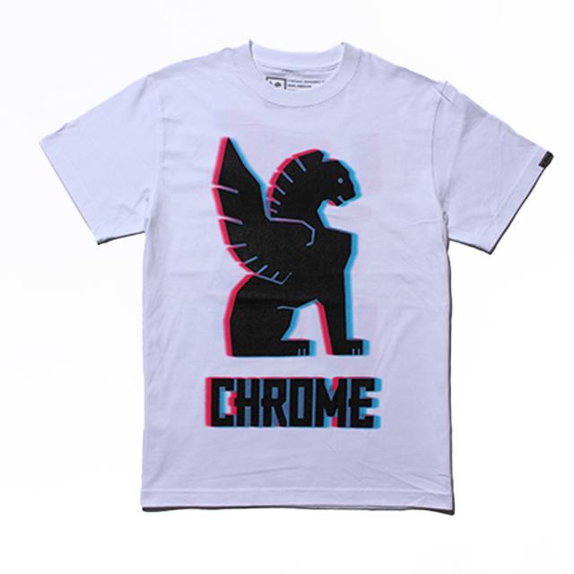 【SALE】 クローム CMKシンボルティー CHROME CMK SYMBOL TEE WHITE メンズ JP145WT