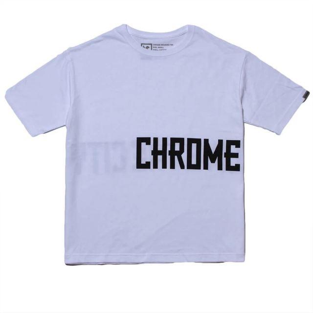 【SALE】 クローム ビッグ シルエット ティー CHROME BIG SILHOUET TEE WHITE メンズ レディース Tシャツ JP150WT
