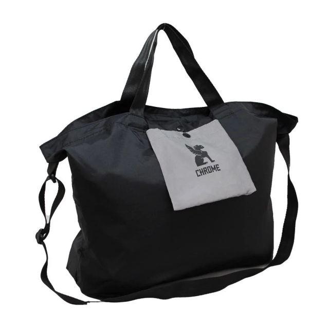 クローム セーフティー ポケット ショルダー バッグ CHROME SAFETY POCKET SHOULDER BLACK バッグ アクセサリー エコバッグ JP182BK