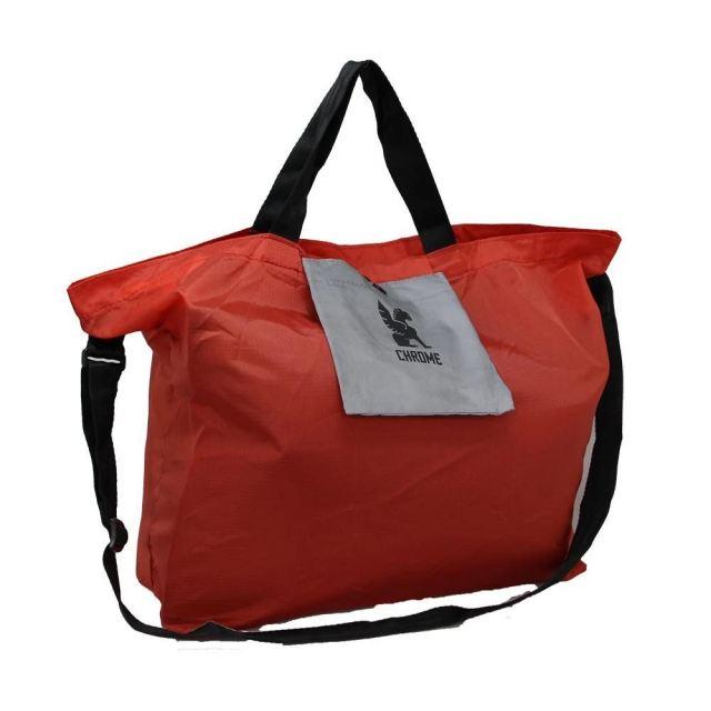 クローム セーフティー ポケット ショルダー バッグ CHROME SAFETY POCKET SHOULDER RED バッグ アクセサリー エコバッグ JP182RD
