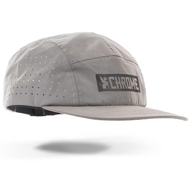 クローム ファイブ パネル ハット CHROME 5 PANEL HAT REFLECTIVE メンズ 帽子 リフレクター 反射素材 自転車 ロードバイク ピスト AC210REFL