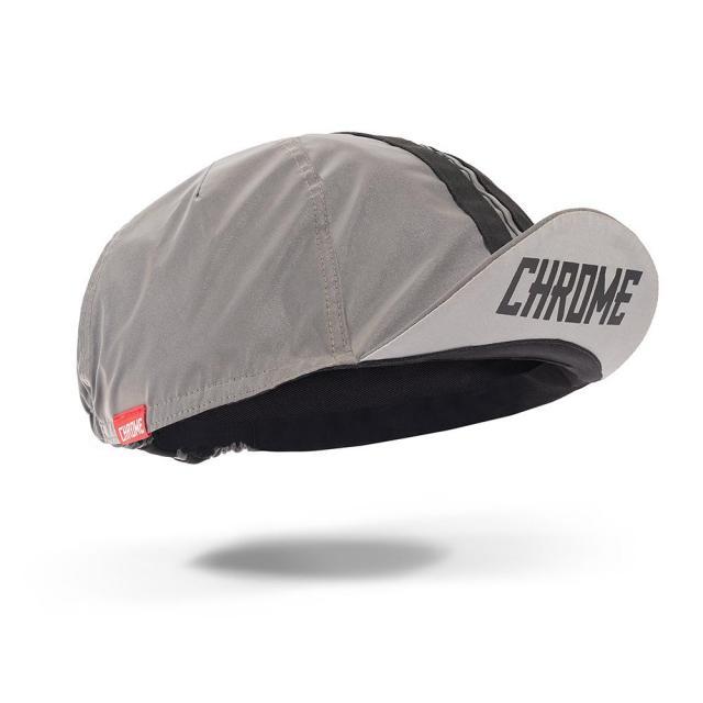 クローム サイクリング キャップ CHROME CYCLING CAP REFLECTIVE メンズ 帽子 リフレクター 反射素材 自転車 ロードバイク ピスト AC211REFL