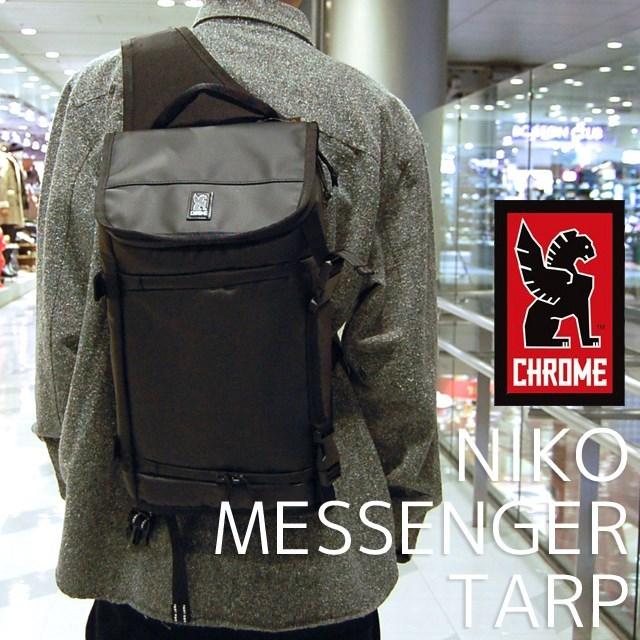 CHROMEクロームメンズバッグNIKOMESSENGERTARPBlack/BlackBG186BKBKNANAカメラバッグ/ブラック/メッセンジャーバッグ/国内正規販売店