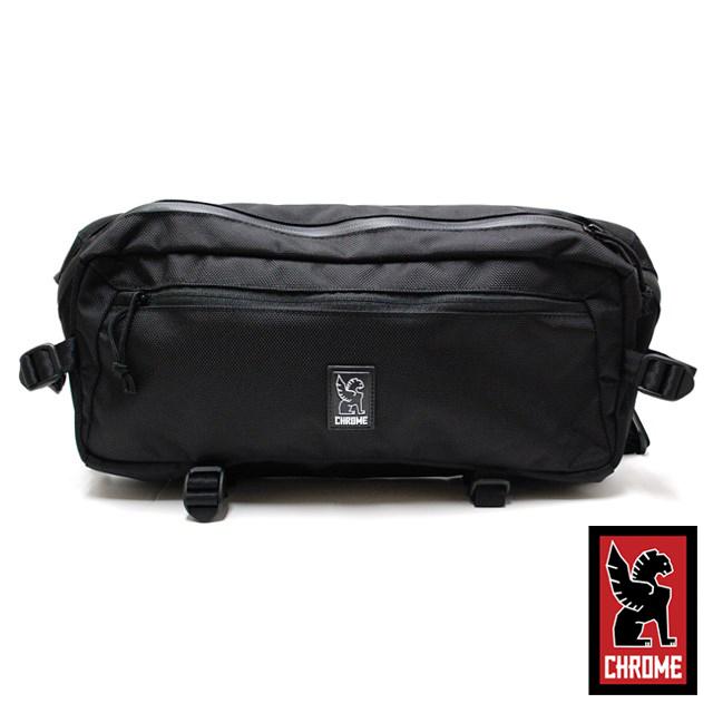 CHROME クローム メンズ バッグ KADET カデット Ballistic Nylon BG196BLT [ブラック/ボディバッグ/ウェストバッグ/2WAY]