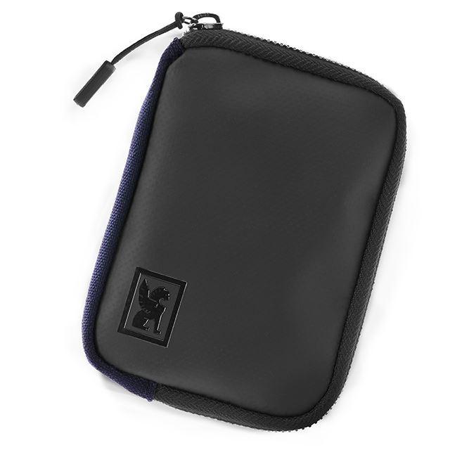クロームジップウォレットCHROMEZIPWALLETNAVY財布、旅行AC150NV