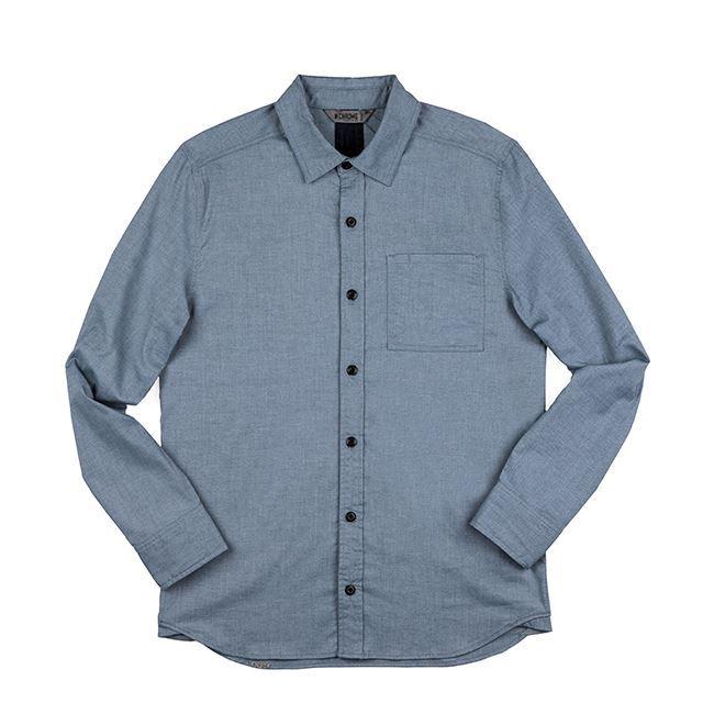 【30%OFF SALE】 クローム ストレッチシャンブレイワンポケットシャツ CHROME STRETCH CHAMBRAY 1 PKT SHIRT MIDNIGHTNAVY 速乾性、耐久性、通気性 AP395MDNV