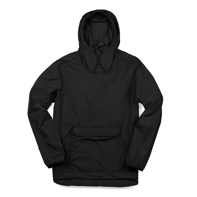 【30%OFF SALE】 クローム バックマンパッカブルアノラック CHROME BUCKMAN PACKABLE ANORAK BLACK ジャケット、軽量、動きやすい AP402BK