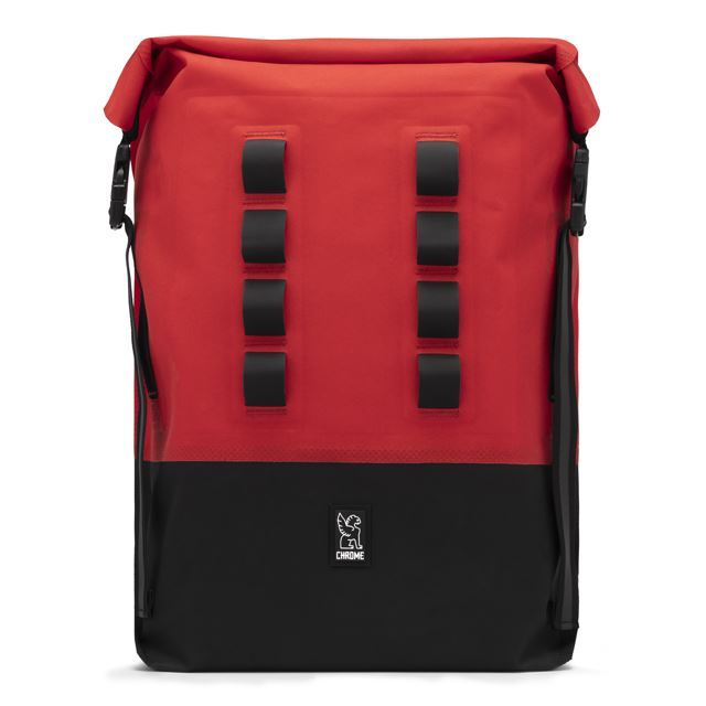 【30%OFF SALE】 クローム アーバンEXロールトップ28 CHROME URBAN EX ROLLTOP 28L RED/BLACK 完全防水、軽量、旅行 BG218RDBK