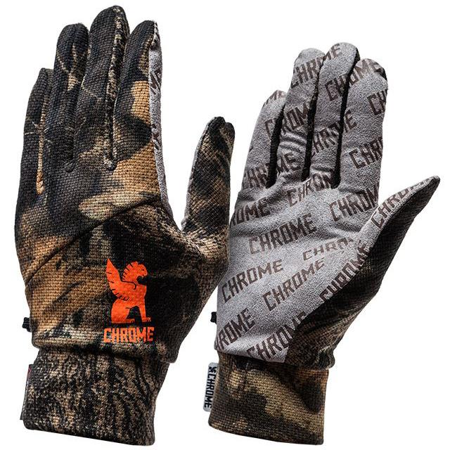 クローム パワードライグローブ CHROME POWER DRY GLOVE BLACK 手袋、速乾 JP035CAMO
