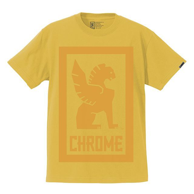 【30%OFF SALE】 クローム ビッグロックアップティー CHROME BIG LOCKUP TEE BANANA JP044BNN