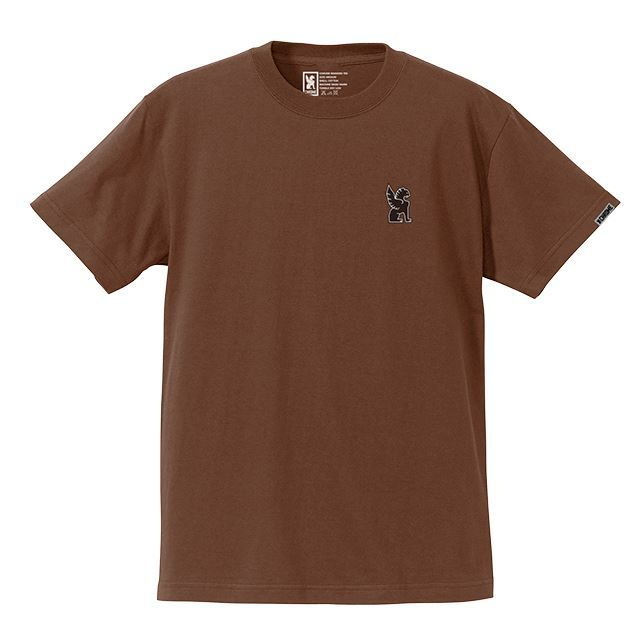 【30%OFF SALE】 クローム シンボルポイントティー CHROME SYMBOL POINT TEE DARKBROWN JP045DKBR