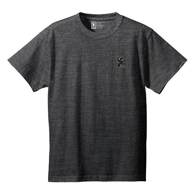 【30%OFF SALE】 クローム シンボルポイントティー CHROME SYMBOL POINT TEE HEATHERBLACK JP045HBK