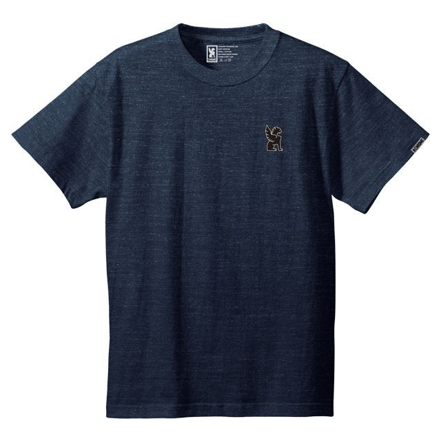 クローム シンボルポイントティー CHROME SYMBOL POINT TEE HEATHERNAVY JP045HNV