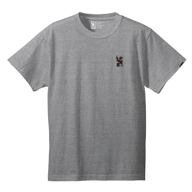 【30%OFF SALE】 クローム シンボルポイントティー CHROME SYMBOL POINT TEE MIXGREY JP045MG