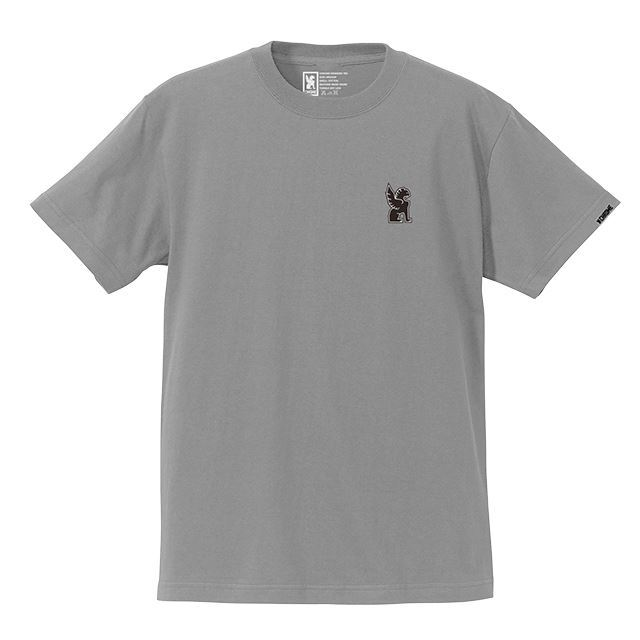 【30%OFF SALE】 クローム シンボルポイントティー CHROME SYMBOL POINT TEE SOLIDGREY JP045SGY