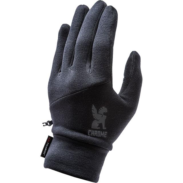 【SALE】 クローム 手袋 パワーストレッチ グローブ CHROME POWER STRECH GLOVE BLACK 自転車 ピスト メッセンジャー タッチパネル対応 CLOTHING ACCESSORIES JP065BK