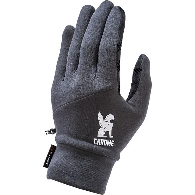 【SALE】 クローム 手袋 パワーストレッチ グローブ CHROME POWER STRECH GLOVE GREY 自転車 ピスト メッセンジャー タッチパネル対応 CLOTHING ACCESSORIES JP065GY