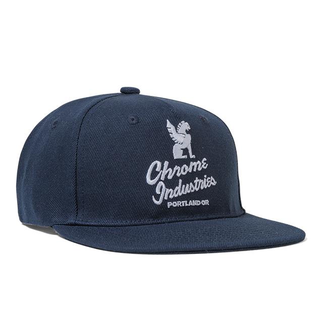 クローム CHROME ファイブ パネル キャップ 帽子 FIVE PANEL CAP NAVY/WHITE JP088NVWT