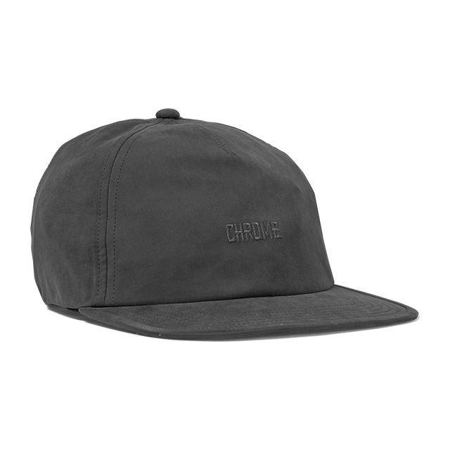 【SALE】クローム キャップ ファイブ パネルダッドキャップ CHROME FIVE PANEL DAD CAP BLACK/BLACK 帽子 自転車 ピスト メッセンジャー JP075BKBK