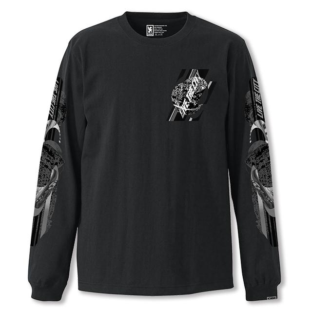 クローム CHROME ホールナイン ロングスリーブ Tシャツ WHOLE 9 L/S TEE BLACK JP113BK
