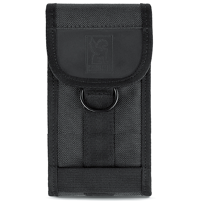 クローム スマートフォン ポーチ ラージ フォン ポーチ CHROME LARGE PHONE POUCH BLACK AC126BK