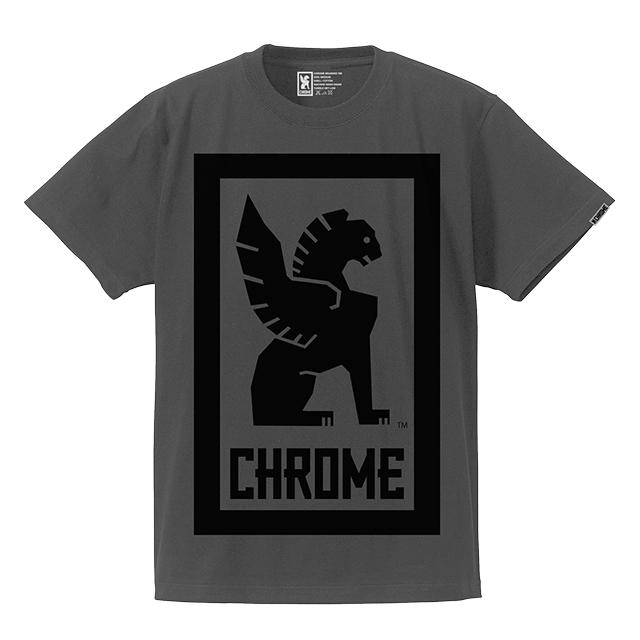 クローム メンズ Tシャツ ビッグ ロックアップ ティー CHROME BIG LOCKUP TEE SUMI JP044SM