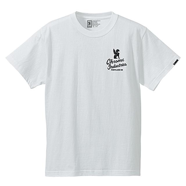 クローム メンズ Tシャツ セブンスターズ クオリティー ポートランド エディション ティー CHROME 7★QUALITY PDX ED. TEE WHITE JP048WT