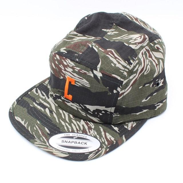 【デッドストック セール】【50%OFF SALE】 クローム ロゴ EMB キャンパー キャップ LOGO EMB CAMPER CAP TIGER CAMO タイガーカモ 迷彩 メンズ 帽子 JP057CAMO
