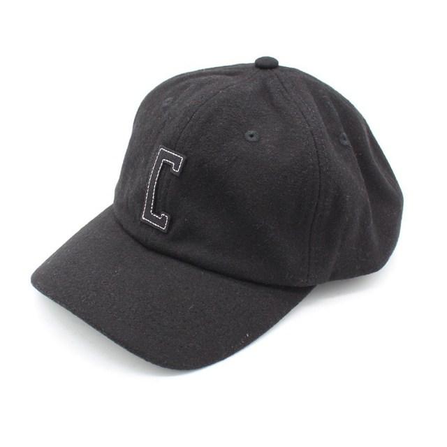 【デッドストック セール】【50%OFF SALE】 クローム フェルト ウール キャップ CHROME FELT WOOL CAP BLACK/BLACK メンズ 帽子 帽子 JP087BKBK