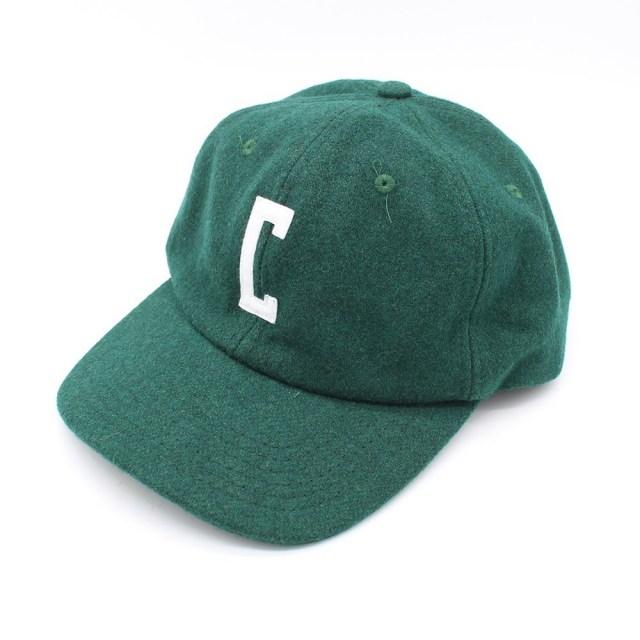 【デッドストック セール】【50%OFF SALE】 クローム フェルト ウール キャップ CHROME FELT WOOL CAP FOREST GREEN/WHITE メンズ 帽子 帽子 JP087FOWT