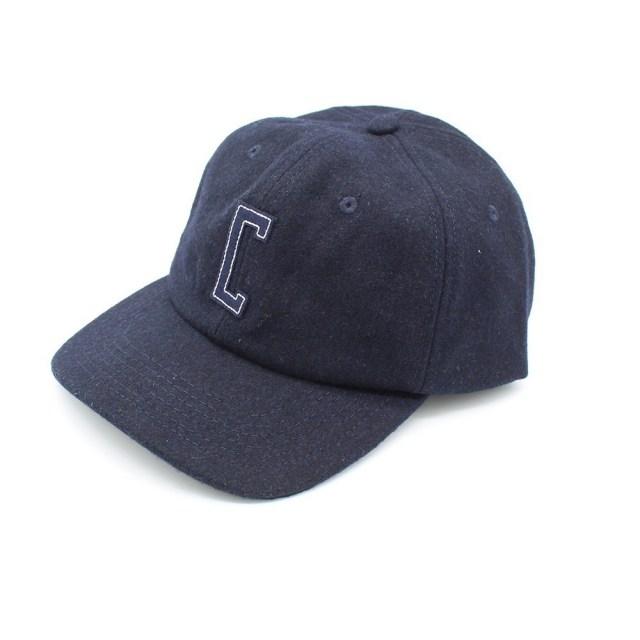 【デッドストック セール】【50%OFF SALE】 クローム フェルト ウール キャップ CHROME FELT WOOL CAP NAVY/NAVY メンズ 帽子 帽子 JP087NVNV