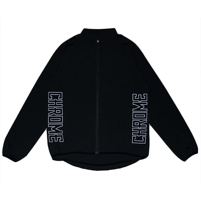 【50%OFF SALE】 クローム テックジャケット CHROME TECH JACKET BLACK/BLACK メンズ ジャケット JP092ALLB