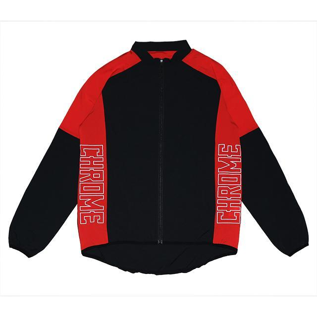 【50%OFF SALE】 クローム テックジャケット CHROME TECH JACKET RED/BLACK メンズ ジャケット JP092RDBK