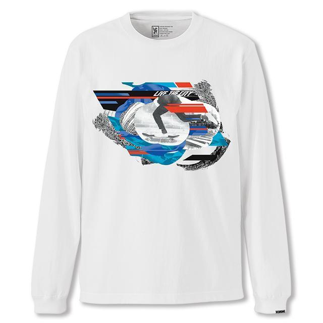 【50%OFF SALE】 クローム ホールナイン LTD ロングスリーブ ティー CHROME WHOLE 9 LTD L/S TEE WHITE メンズ Tシャツ ロンT JP115WT