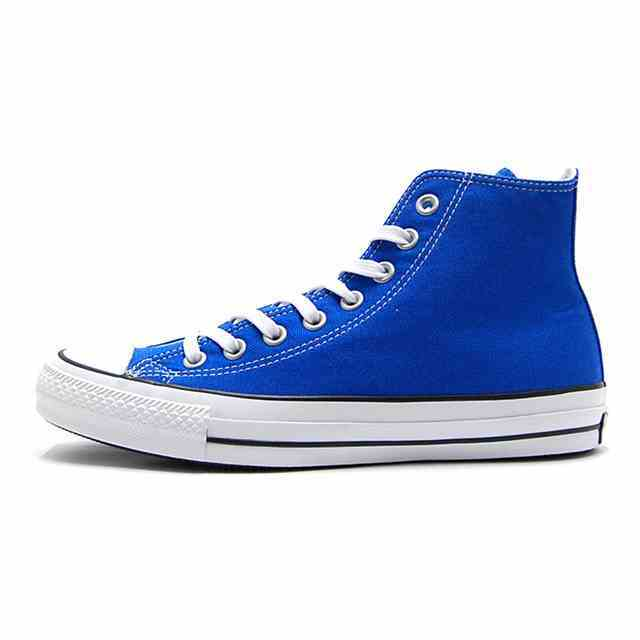 コンバース converse スニーカー メンズ ALLSTAR 100 COLORS HI オールスター 100 カラーズ ハイ BLUE ブルー