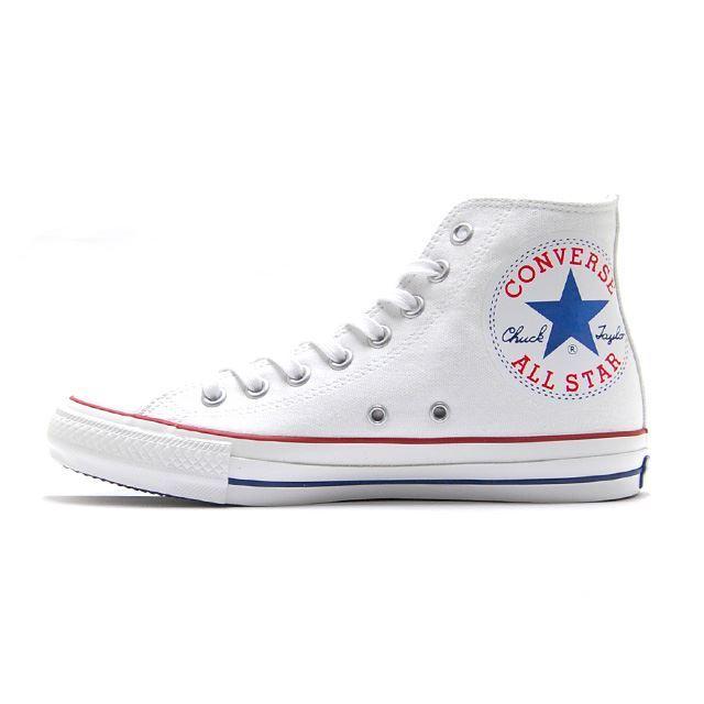コンバース converse スニーカー メンズ レディース ALL STAR 100 HUGEPATCH HI オールスター 100 ヒュージパッチ HI WHITE ホワイト