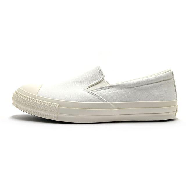 コンバース converse スニーカー メンズ レディース オールスター100 MN スリッポン ALL STAR 100 MN SLIP-ON WHITE ホワイト