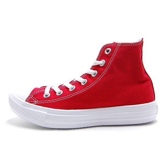コンバース converse スニーカー メンズ レディース ALL STAR LIGHT HI オールスター ライト HI RED レッド