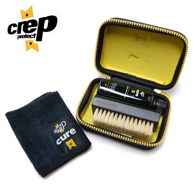 CREP PROTECT クレップ プロテクト SHOE CURE KIT シュー ケア キット 6065-29010 [シューケア/ケア用品/洗浄/汚れ/除去/スニーカー/シューズ/ヌバック/スエード/スウェード/キャンバス/レザー/ナイロン/国内正規販売店/Authorized Dealer]