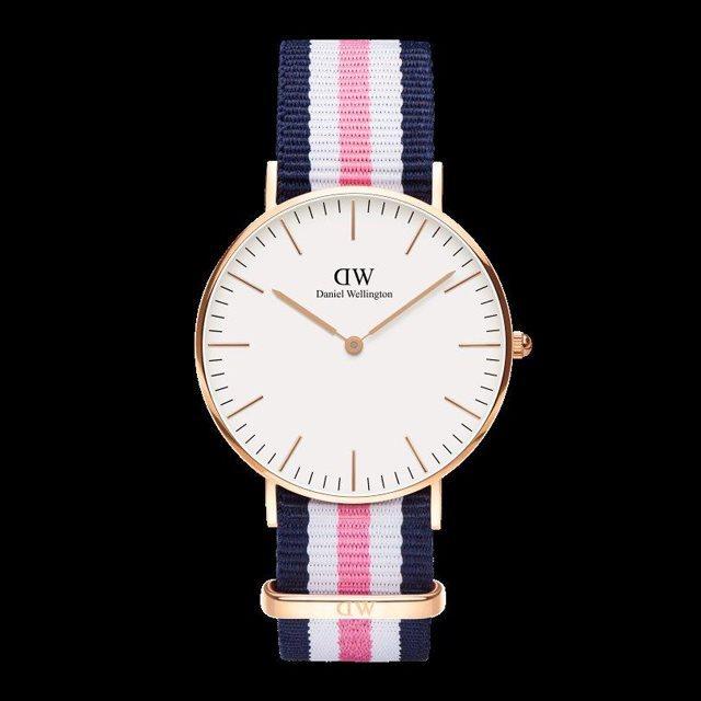 Daniel Wellington ダニエル ウェリントン メンズ レディース 36mm 腕時計 Classic Southampton Rose gold ローズゴールド DW00100034 [NATOストラップ/国内正規販売店/Authorized Dealer]