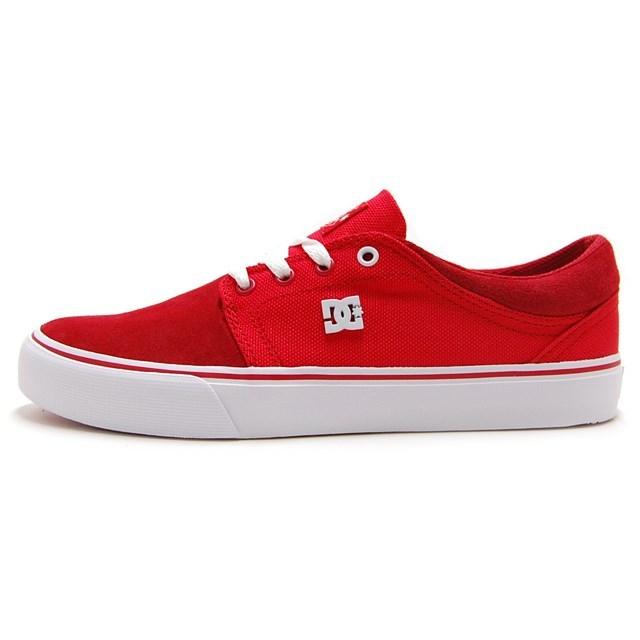 DC SHOES ディーシーシューズ メンズ スニーカー TRASE TX SE RED DIGITAL PLAID DM174016-DLR [スケーター/スケートボード/スケートシューズ/スケシュー/スケボー]