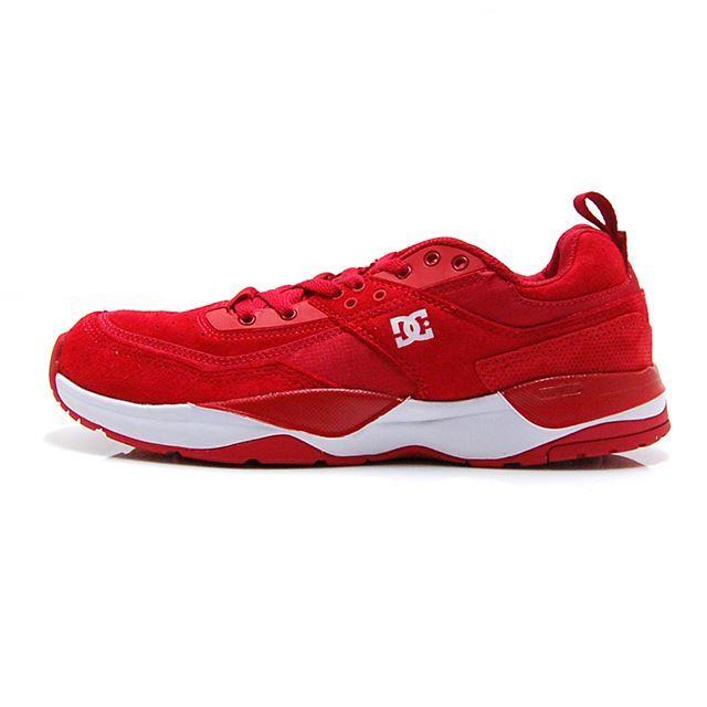 ディーシー シューズ DC SHOES スニーカー メンズ E.TRIBEKA RED DM184002-RED