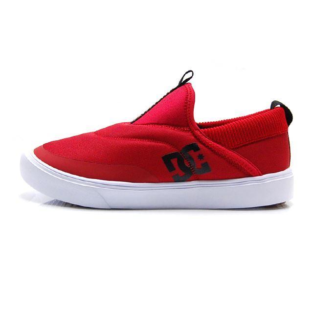 ディーシー シューズ メンズ スニーカー DC SHOES SHERPA LO RED/WHITE DM184601-RED