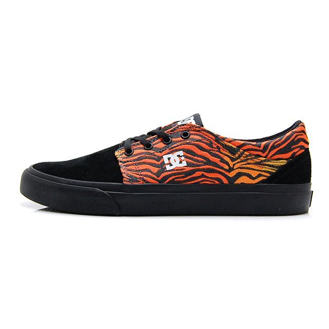 DC シューズ メンズ スニーカー DC SHOES TRASE SE ZEBRA PRINT DM186016-ZEB