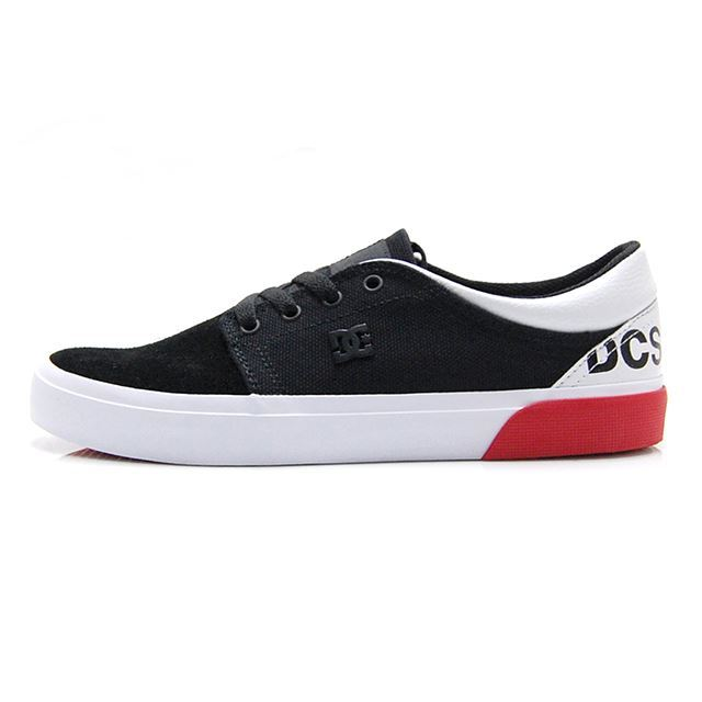 ディーシー シューズ メンズ スニーカー DC SHOES TRASE TX SP BLACK/RED/WHITE DM186017-XKRW